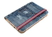 Trust Jeans Folio Stand for 7-8 tablets blue denim