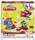 Play-Doh Can Heads B0606 Captain America Spider Man Venom HASBRO