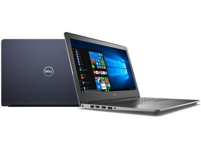 "Dell Vostro 5568 Win10Home i5-7200U/1TB/4GB/Intel HD/15.6""HD/KB-Backlit/3-cell/Blue/3Y NBD"