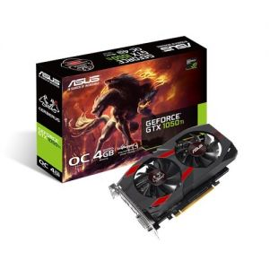 Asus GeForce GTX 1050 TI OC 4GB 128BIT DVI/HDMI/DP/HDCP
