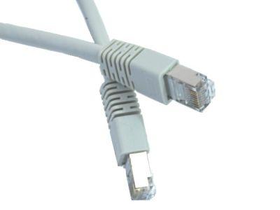 Gembird Patch cord ekranowany FTP kat.6 osłonka zal. 15M  szary
