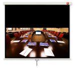 AVTek Ekran ścienny ręczny Business 200, 16:10, 190x119cm,  powierzchnia biała, matowa
