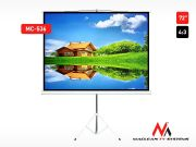 "Maclean Ekran projekcyjny MC-536 na stojaku 72"" 4:3 145x110"