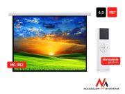 """Maclean Ekran projekcyjny elektryczny MC-552 150"""" 300x220  4:3 ściana lub sufit"""