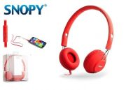 SNOPY SN-933 Headset Rubber Red