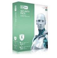 ESET Secur.Pack ESD Kon 3PC+3Sm 1Y   ESP-K-1Y-6D