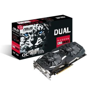 Asus Radeon RX 580 OC GAMING 4GB 256BIT 2HDMI/DVI/2DP