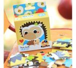 CZUCZU 6467 Mini Puzzle Jeżyki BRIGHT JUNIOR MEDIA