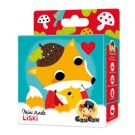 CZUCZU 6436 Mini Puzzle Liski BRIGHT JUNIOR MEDIA