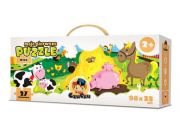 CZUCZU 6016 Moje Pierwsze Puzzle Wieś BRIGHT JUNIOR MEDIA