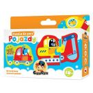 CZUCZU 6375 Puzzle Do Pary Pojazdy BRIGHT JUNIOR MEDIA