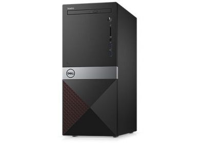 Dell Komputer Vostro 3670/Core i5-8400/8GB/1TB/Intel UHD 630/DVD RW/WLAN + BT/Kb/Mouse/W10Pro