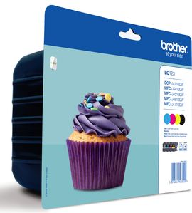 Brother Multipack LC123 CMYK do MFC-J4510DW